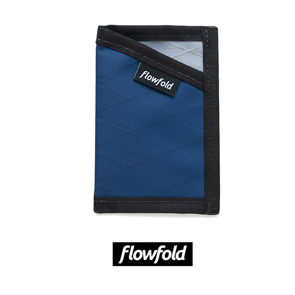 [FLOWFOLD] MINIMALIST CARD HOLDER LTD NAVY BLUE