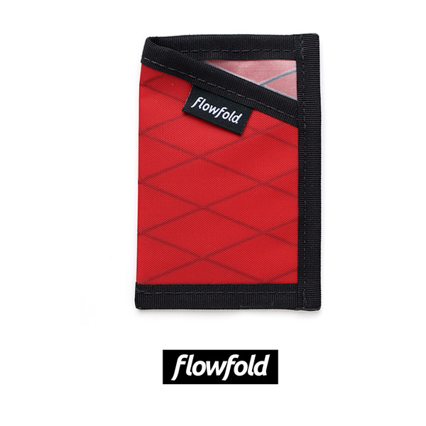 [FLOWFOLD] MINIMALIST CARD HOLDER LTD BICYCLE RED