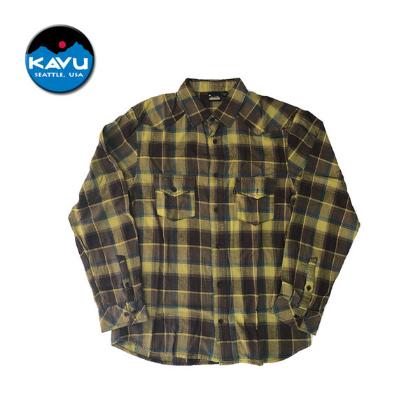 [KAVU] The Earl Shirt Amarillo