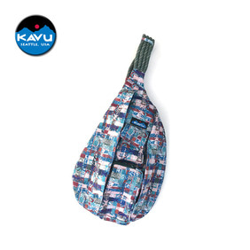 [KAVU] Rope Sling Mixed Weave
