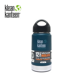 [KLEANKANTEEN] Wide Insulated 355ml Neptune Blue