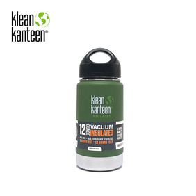 [KLEANKANTEEN] Wide Insulated 355ml Vinyard Green