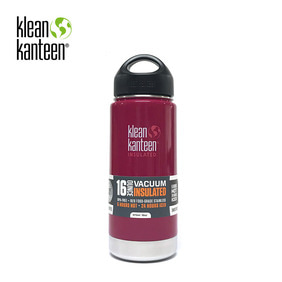 [KLEANKANTEEN] Wide Insulated 473ml Raspberry