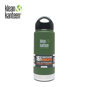 [KLEANKANTEEN] Wide Insulated 473ml Vinyard Green