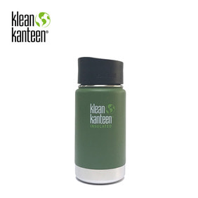 [KLEANKANTEEN] Wide Insulated CafeCap2.0 355ml Vinyard Green