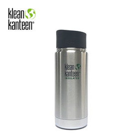 [KLEANKANTEEN] Wide Insulated CafeCap2.0 473ml Stainless