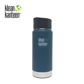 [KLEANKANTEEN] Wide Insulated CafeCap2.0 473ml Neptune Blue