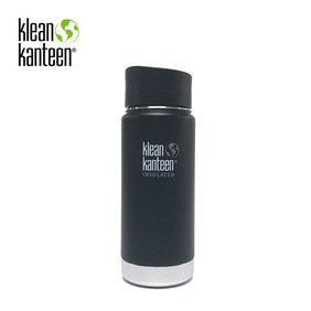 [KLEANKANTEEN] Wide Insulated CafeCap2.0 473ml Shale Black