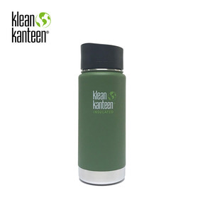 [KLEANKANTEEN] Wide Insulated CafeCap2.0 473ml Vinyard Green