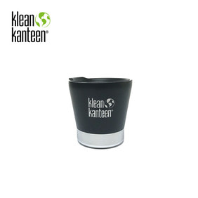 [KLEANKANTEEN] Pint Cup Insulated 237ml W/Lid Shale Black