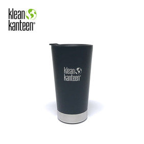 [KLEANKANTEEN] Pint Cup Insulated 473ml W/Lid Shale Black